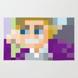 Gene Wilder Pixel Art Rug