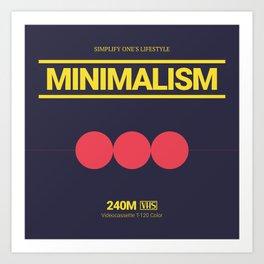 MINIMALISM #8 Art Print