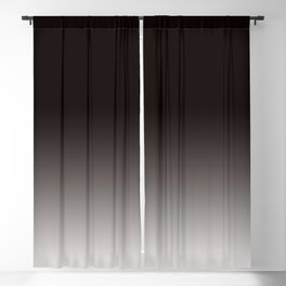 Monochromatic Background, Faded Black to Grey Blackout Curtain