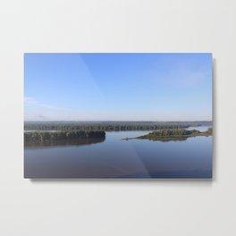 Mississippi River Metal Print