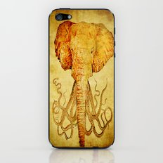 The elephant who wanted to be an octopus iPhone & iPod Skin