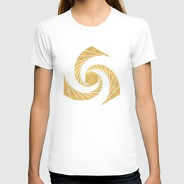 GOLDEN MEAN SACRED GEOMETRIC CIRCLE T-shirt
