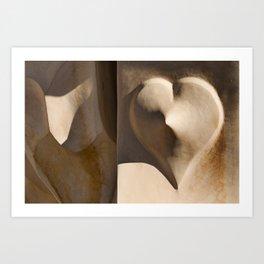 Love Gaudí Art Print