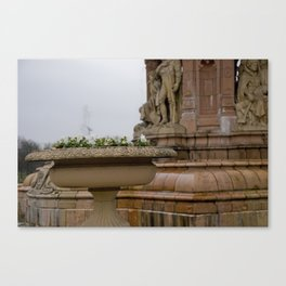 Fountain at People's Palace Canvas Print