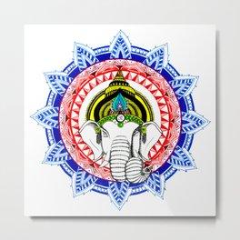 Om Ganeshaya Namah Metal Print