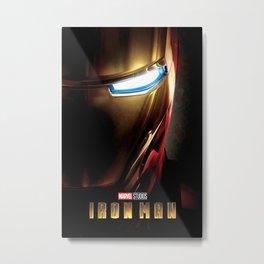 (Iron)(Man) Metal Print