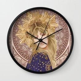 Stevie Nicks Poster, Fleet-wood Mac Poster, Wall Decor, Home Decor, Custom Poster, Custom Art, Living Room Decor, Hand Rock, Work Art Wall Clock