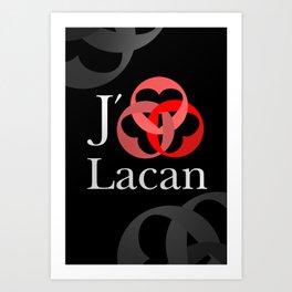 Lacan Borroméen Art Print