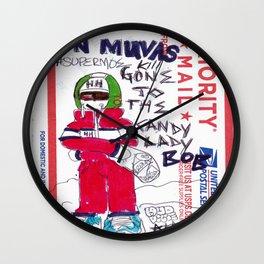#SUPERMOE  Wall Clock