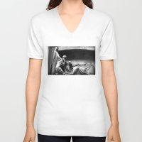 joy division V-neck T-shirts featuring Closer - Joy Division by studioCvH
