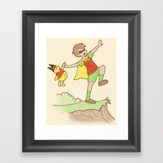 The Dynamic Duo Framed Art Print
