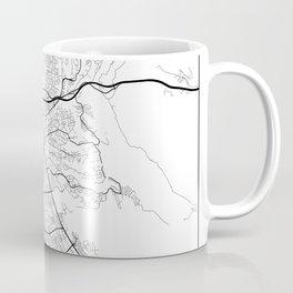 Minimal City Maps - Map Of Hayward, California, United States Coffee Mug