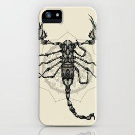 Escorpião iPhone Case