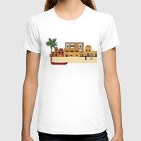 arab T-shirts featuring Arab city by Design4u Studio