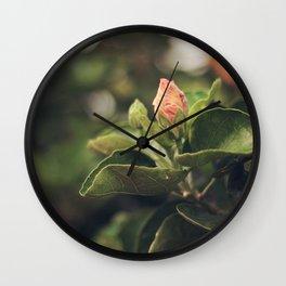 Capullo de Hibisco - Hibiscus bud Wall Clock