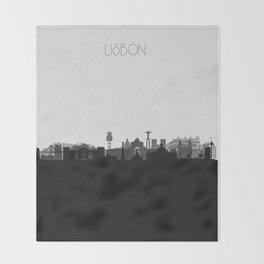 City Skylines: Lisbon Throw Blanket