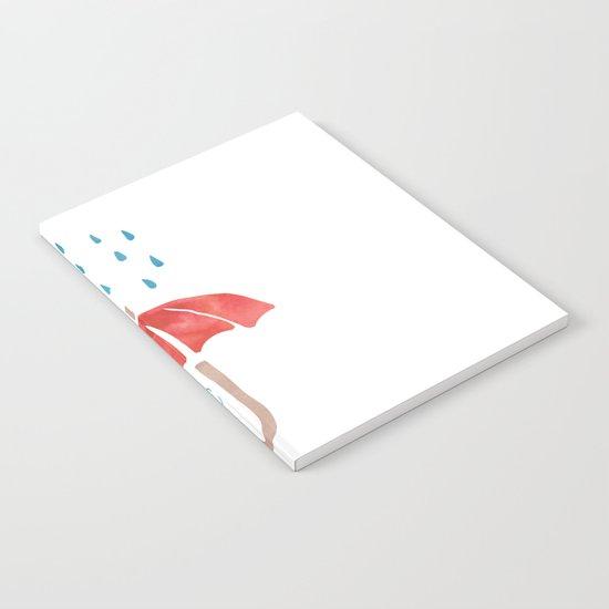 Books and Rain Notebook