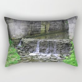 Greeting the Past Rectangular Pillow