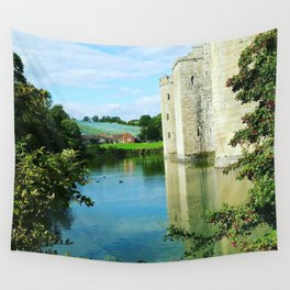 Castle and it's Moat Wall Tapestry