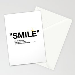"""""""SMILE"""" Stationery Cards"""