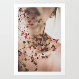 Tattooed by Omerika Art Print