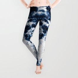 Boho Paper Tie-Dye Leggings