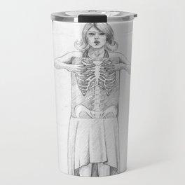 Exposure, pencil illustration Travel Mug