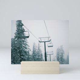 Ski Lift II Mini Art Print