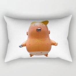 Trump baby balloon Rectangular Pillow