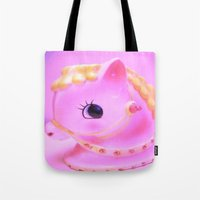 pony Tote Bags featuring  pony by Vintage  Cuteness