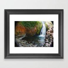 Bridal Veil Falls OR Framed Art Print