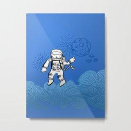 Astrocat Metal Print