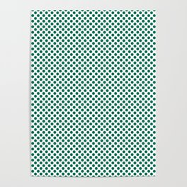 Lush Meadow Polka Dots Poster