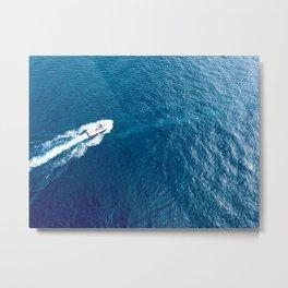 Cruising around the harbour Metal Print