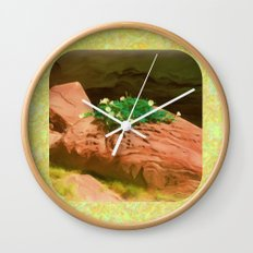 Datura Cavern Wall Clock
