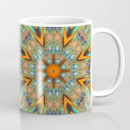 Star shape kaleidoscope with playful patterns Coffee Mug