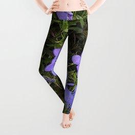 Purpley Poster Leggings