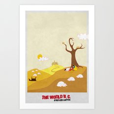 The World Before Coffee Art Print