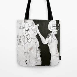8-Ball is a piece of shit! Tote Bag
