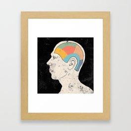 Talking Head I Framed Art Print