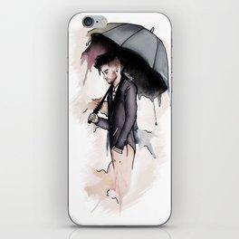 Rainy Watercolor Zayn iPhone Skin
