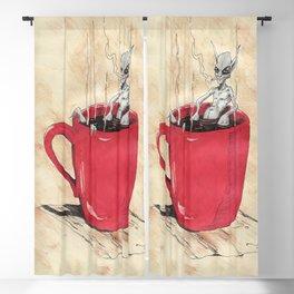 Cluster Coffee Break Blackout Curtain