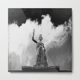 Monument Series: Gravity Angel #4 Metal Print