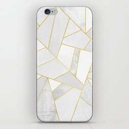 White Stone iPhone Skin