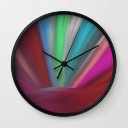 Light on Earth Wall Clock