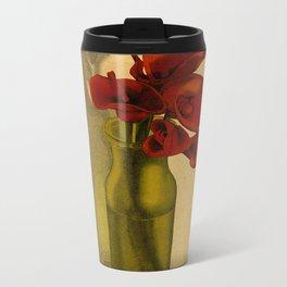 Calla lilies in bloom Metal Travel Mug