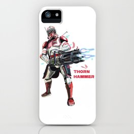 Thorn hammer iPhone Case