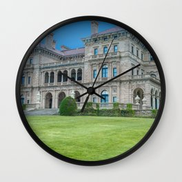 The Breakers in HDR Wall Clock