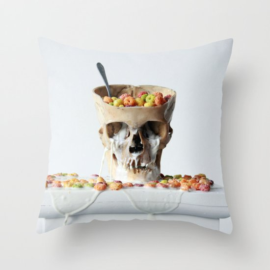 Cereal Killer #2 Throw Pillow