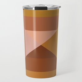 Mod Abstract Geometry Travel Mug
